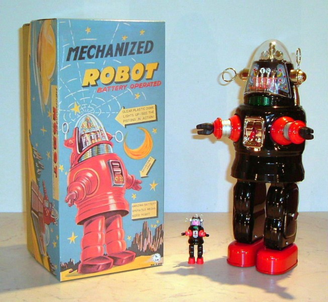 Osaka OTTI Mechanized Robby Robot