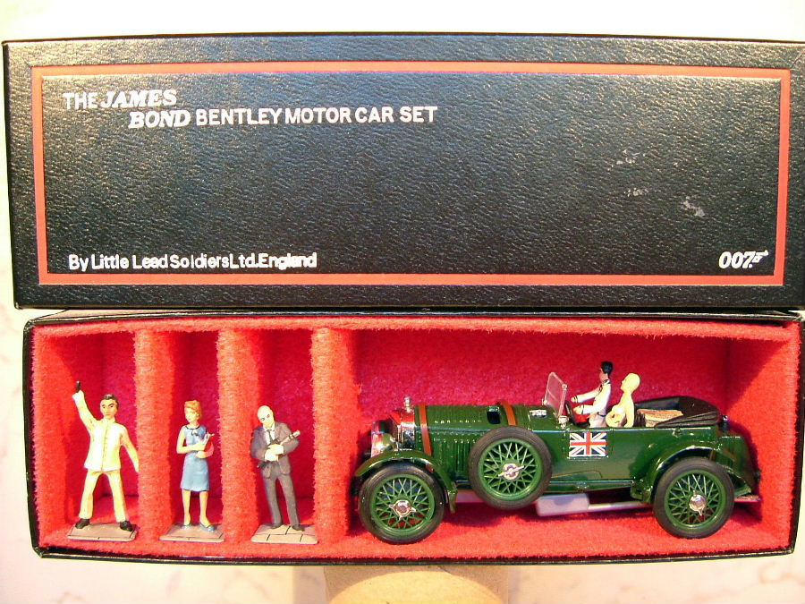 Little Lead Soldiers Bentley set 007 (O)