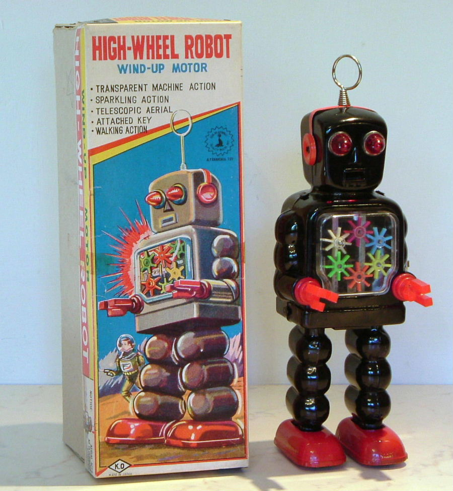 High Wheel robot  (O)