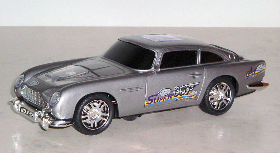 James Bond Musical Aston Martin DB5  (O)