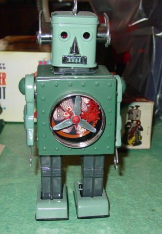Green Henk Robot