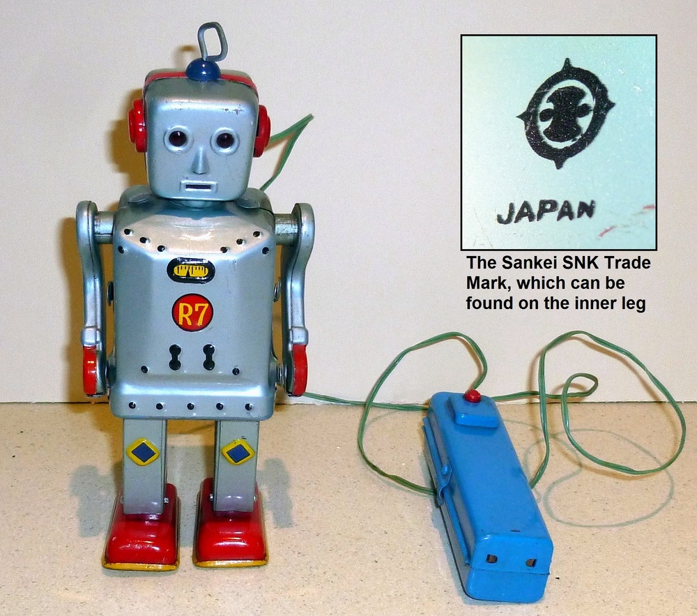 Flashy Jim R7 robot by Sankei SNK