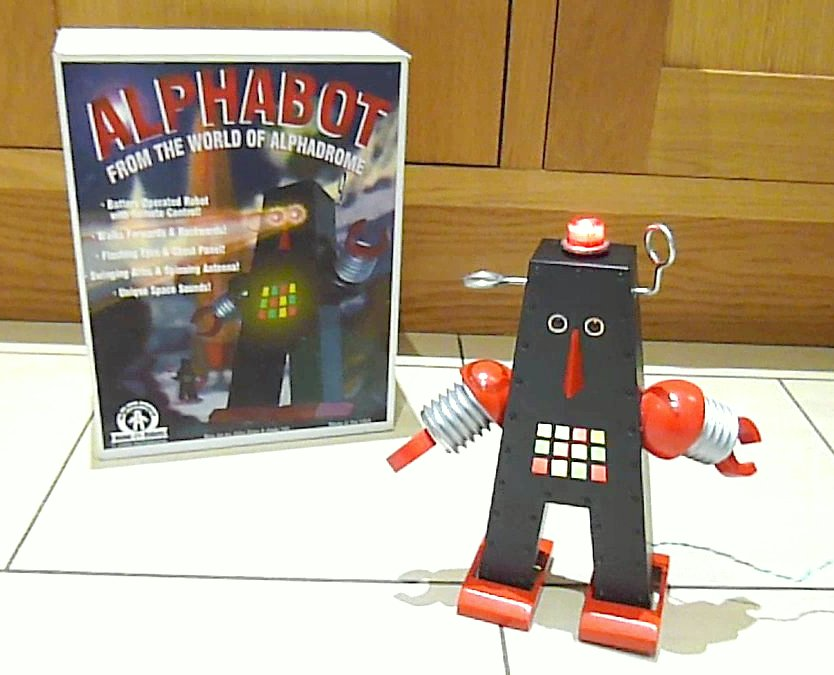 2009 John Rigg Alphabot Robot now with real beacon