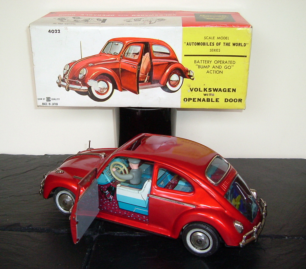 Bandai VW Volkswagen Sedan Beetle with opening door