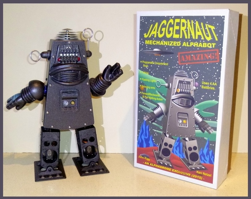 John Rigg Jaggernaut Mechanized Alphabot Robot