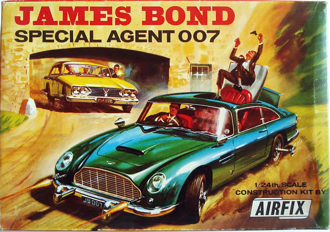 Airfix James Bond 007 Aston Martin box
