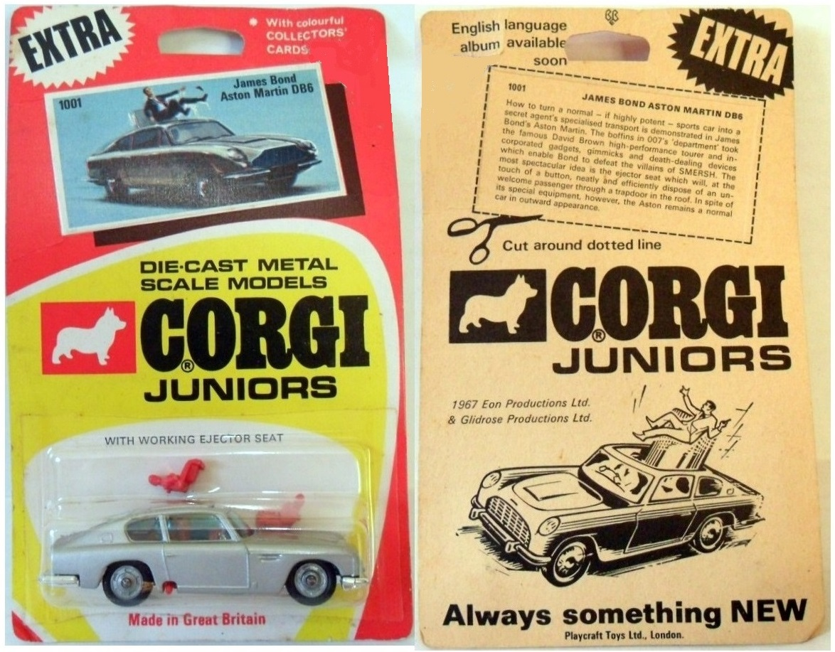 Corgi Playcraft James Bond Aston Martin DB5