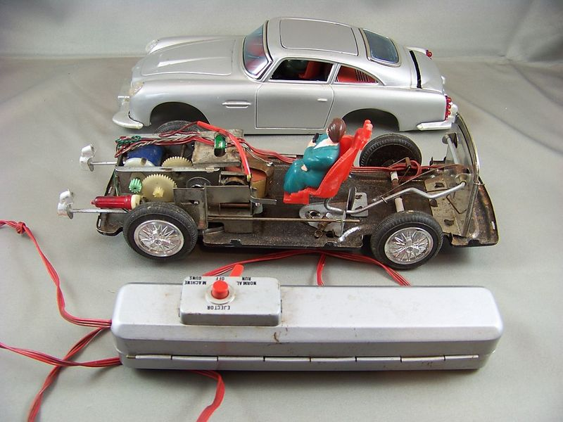 Permalink to James Bond Aston Martin Db5 Remote Control Car