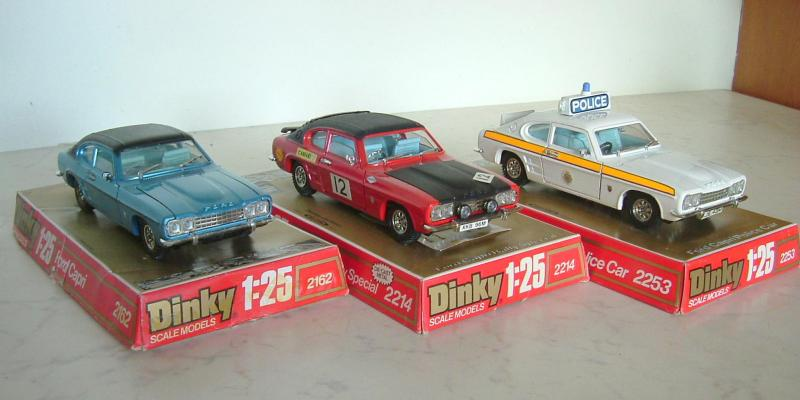 Dinky Ford Capri - 1970's large scale (O)