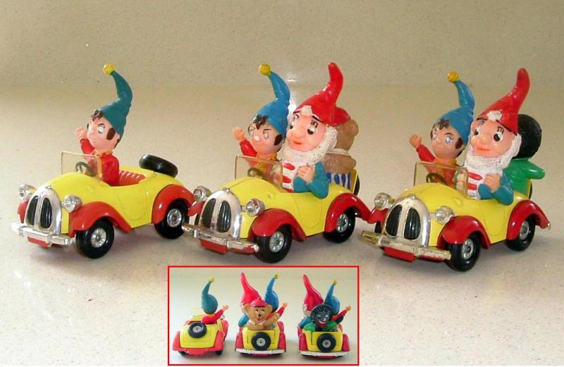 Corgi Noddy Cars