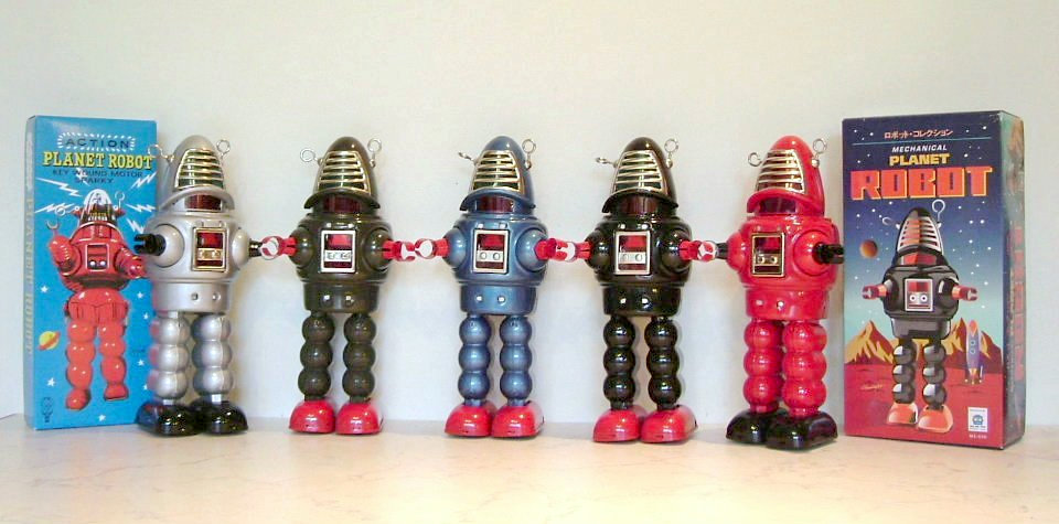 Planet Robby Robot repro. group