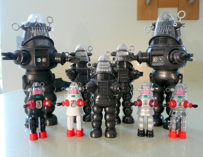 Robby Mechanized Robot Collection