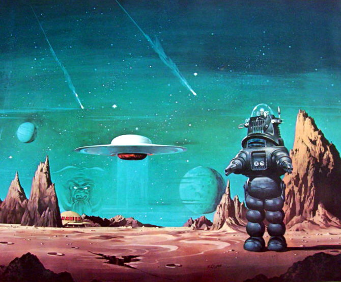 Forbidden Planet artwork