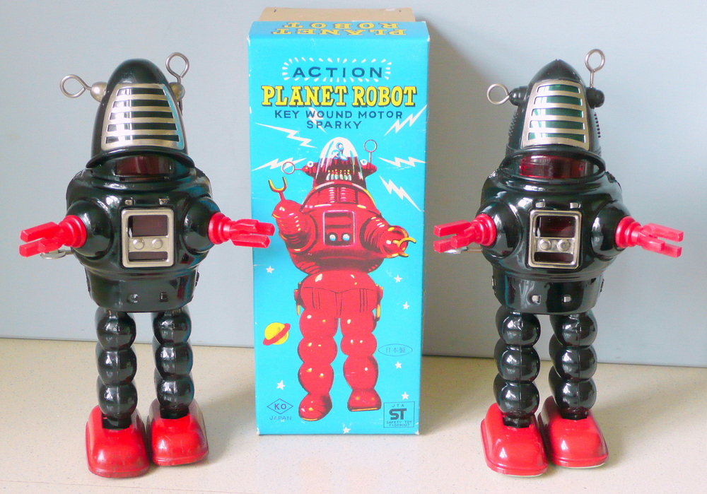 Yoshiya KO Planet Robot 2 later versions