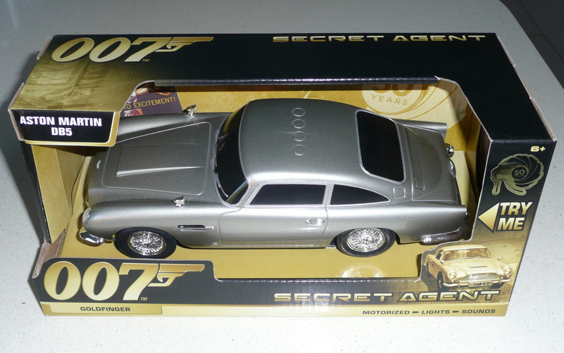 Goldfinger Aston Martin DB5 by Toy State