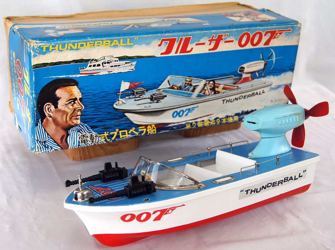 James Bond Thunderball Speedboat, Modern Toys Masudaya