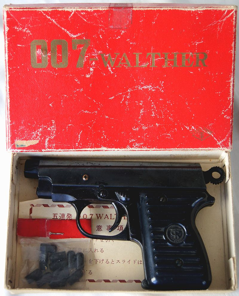 James Bond Walther PPK TANIGUCHI TOYS CO. LTD., JAPAN