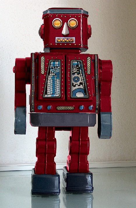 Red Robot by Henk