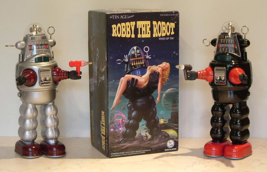 Robot Robot by Tin Age Osaka Tin Toy